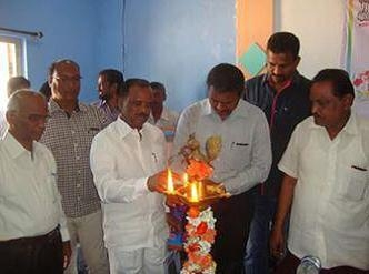 Sri.Sake Gampanna Garu Dy. Mayor of Anantapuramu Inaugurating Youth Convention on the occasion of 125th Birth Anniversary of Dr.B.R.Ambedkar on 18-02-2016 at Hall � II, Govt. College, Anantapuramu(Andhra Pradesh)