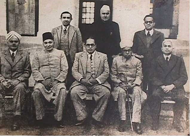 The Drafting Committee for the Constitution of India