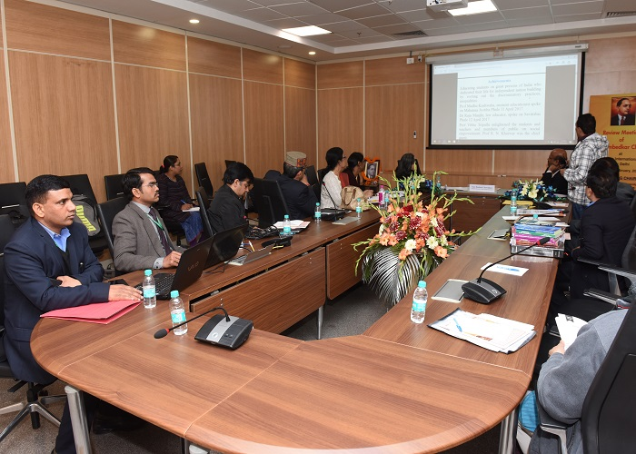 Review Meeting of Chairs