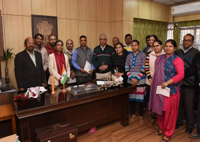 Winners of Essay Competition during, Vigilance Awareness Week 2019