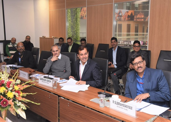 On the occassion of Governing Body Meeting at DAIC, Dec. 2019